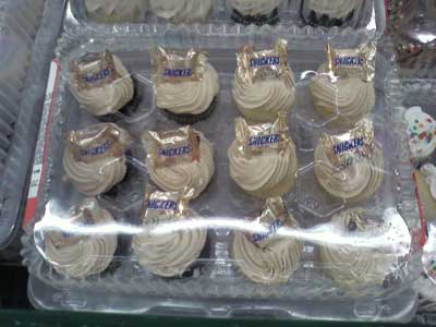 Snicker at these cupcakes