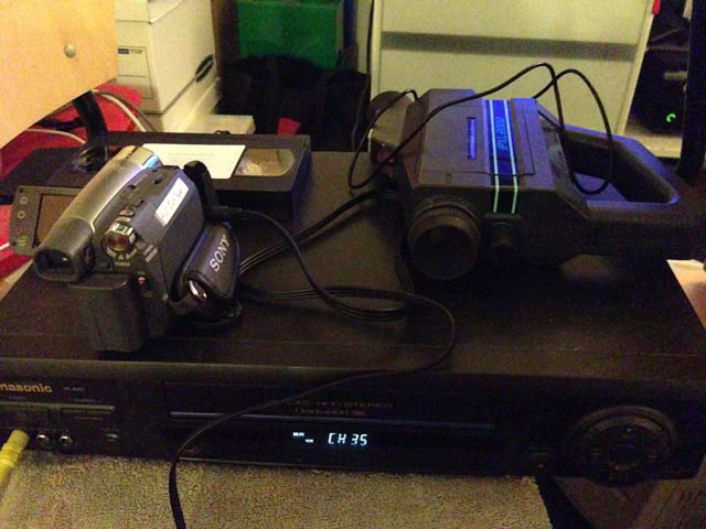 PXL-2000 and DV on VCR